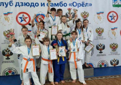 Двенадцать медалей завоевала команда Донецкой Народной Республики по дзюдо на Всероссийском турнире памяти К.В. Дорохиной