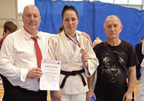 Бронзовую медаль завоевала дзюдоистка из ДНР на Чемпионате Центрального Федерального округа