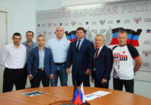 Владимир Антонов провел встречу с победителями Чемпионата России по дзюдо