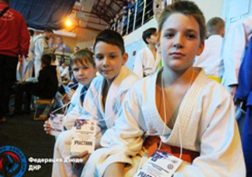 Турнир по дзюдо для юных спортсменов Федерации дзюдо ДНР